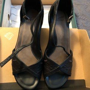 Runa Black Calf Dansko Heels